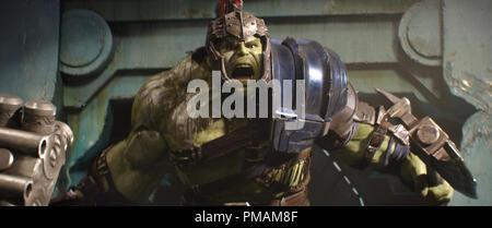 Mark Ruffalo, 'Thor: Ragnarok' (2017) Walt Disney Studios - Stock Photo