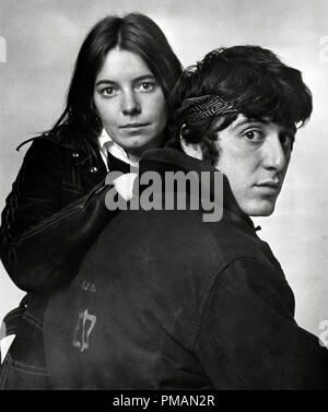 Film Still/Publicity Still of 'The Panic in Needle Park' Kitty Winn, Al Pacino 1971 20th Century Fox Cinema Publishers Collection - No Release - For Editorial Use Only.   File Reference # 33505_287THA - Stock Photo