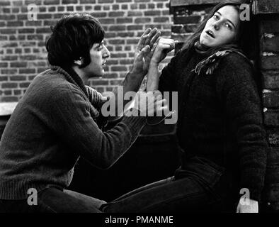 Studio Publicity Still: 'The Panic in Needle Park'  Al Pacino, Kitty Winn  1971 20th Century Fox      File Reference # 32039_166THA - Stock Photo