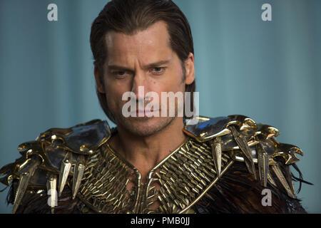 Nikolaj Coster-Waldau stars as 'Horus' in GODS OF EGYPT. - Stock Photo