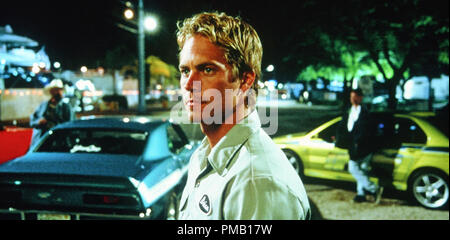 Paul Walker, '2 Fast 2 Furious' (2003) Universal Studios File Reference # 33018 010THA  For Editorial Use Only -  All Rights Reserved - Stock Photo