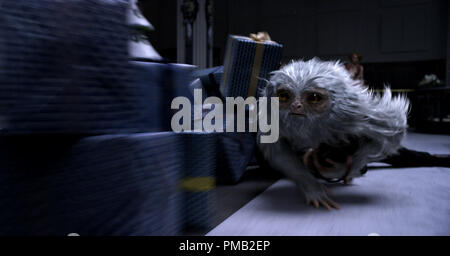 Scene Still  'Fantastic Beasts and Where to Find Them' (2016) Warner Bros. - Stock Photo