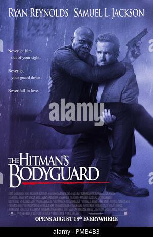 'The Hitmans Bodygaurd' (2017) Summit Entertainment  Poster - Stock Photo
