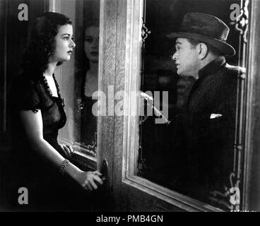 Joan Bennett, Edward G. Robinson, 'The Woman in the Window' (1944) RKO Radio Pictures File Reference # 33371 170THA - Stock Photo