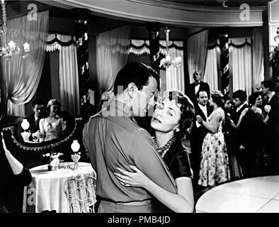 John Forsythe, Olivia De Havilland, 'The Ambassador's Daughter' (1956) United Artists File Reference # 33371_223THA - Stock Photo