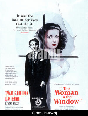 'The Woman in the Window' (1944) RKO Radio Pictures  Poster File Reference # 33371 310THA - Stock Photo