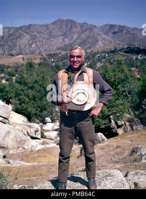 Lorne Greene, 'Bonanza' (1963)  File Reference # 33536 803THA  For Editorial Use Only -  All Rights Reserved - Stock Photo