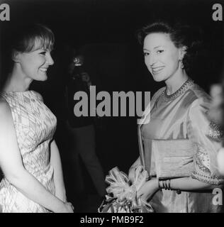 Princess Margaret, Petula Clark, 1967 © JRC /The Hollywood Archive - All Rights Reserved File Reference # 32557 743THA - Stock Photo
