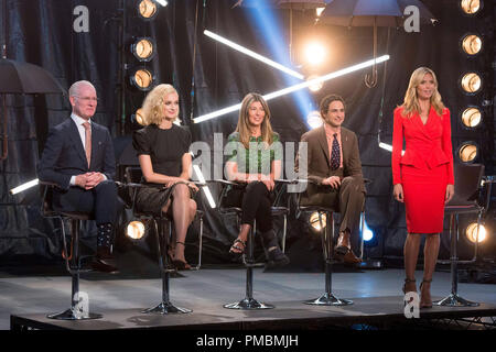 Tim Gunn, Caitlin Fitzgerald, Nina Garcia, Zac Posen and Heidi Klum, 'Project Runway', Season 13 - Stock Photo