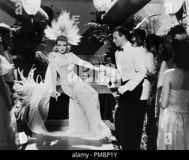 John Wayne and Marlene Dietrich, 'Seven Sinners', 1940 Universal File Reference # 32603 191THA - Stock Photo