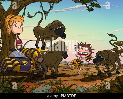 (Left to right) Debbie and Donnie in 'The Wild Thornberrys Movie.' (2002) - Stock Photo