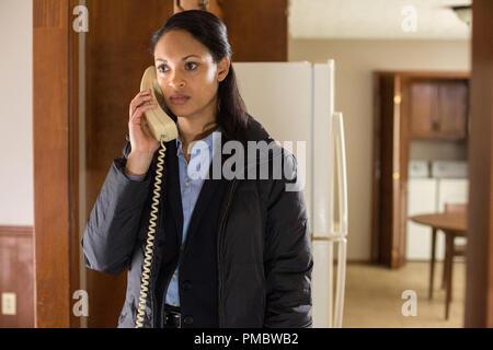 Marybeth Medina-CYNTHIA ADDAI-ROBINSON 'The Accountant' (2016) Warner Bros. - Stock Photo