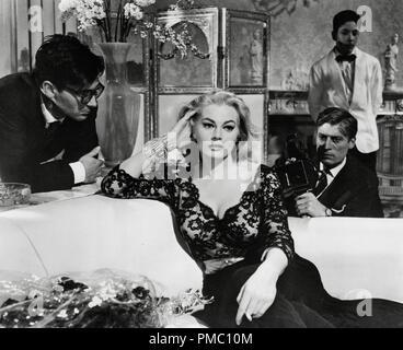 Anita Ekberg, 'La Dolce Vita', 1960  File Reference # 33595 026THA - Stock Photo