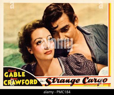 Clark Gable, Joan Crawford,  Strange Cargo (MGM, 1940). Lobby Card  File Reference # 33595 237THA - Stock Photo