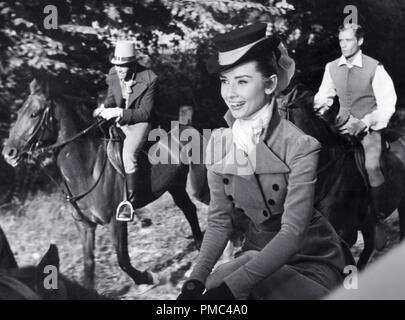 Audrey Hepburn and Mel Ferrer, 'War and Peace' 1956 Paramount Pictures File Reference # 33536 276THA - Stock Photo