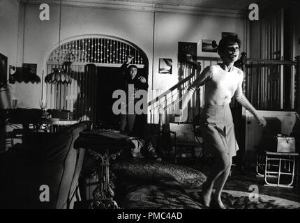 Allen Arkin and Audrey Hepburn, 'Wait Until Dark' 1967 Warner Bros. File Reference # 33536 287THA - Stock Photo