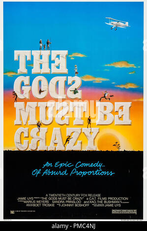 Marius Weyers,  The Gods Must Be Crazy (20th Century Fox, 1980). Poster File Reference # 33595 900THA - Stock Photo