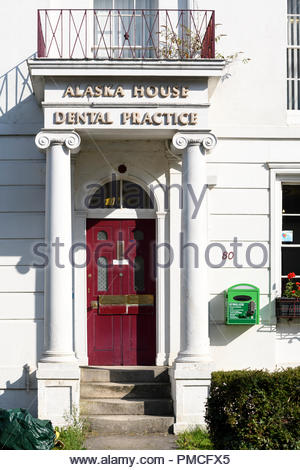 Alaska House dental Practice, Blandford, Dorset, England, UK - Stock Photo