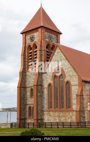Christ Church Cathedral, Stanley, Falkland Islands. - Stock Photo