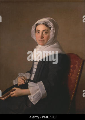 Mary Adam. Date/Period: 1754. Painting. Oil on canvas. Height: 940 mm (37 in); Width: 711 mm (27.99 in). Author: Allan Ramsay. - Stock Photo