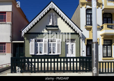 Typical house of Aveiro, Portugal (collection - sea others in my portfolio) - Stock Photo