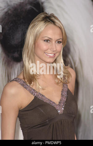 'The Shaggy Dog' (Premiere) Stacy Keibler 03-07-2006 / El Capitan Theater / Hollywood, CA / Walt Disney Pictures / Photo by Joseph Martinez - All Rights Reserved  File Reference # 22702_0016PLX  For Editorial Use Only - - Stock Photo