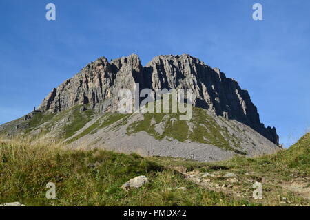 Dolomiti in Col Rodella - Stock Photo