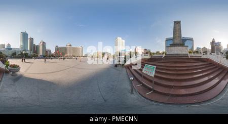 Urumqi People's Square-2007 - Stock Photo
