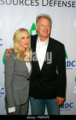 Ed Begley Jr. and wife Michelle at the 20th Anniversary Celebration of NRDC  - Arrivals held at the Beverly Wilshire Hotel in Beverly Hills, CA, 4/25/2009.  Photo by Picturelux File Reference # 30014_0066PLX   For Editorial Use Only -  All Rights Reserved - Stock Photo