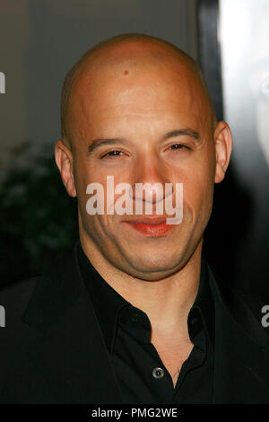 Fast & Furious Premiere  Vin Diesel 3-12-2009 / Gibson Amphitheatre / Universal City, CA / Universal Pictures / Photo by Joseph Martinez File Reference # 30002 0023PLX   For Editorial Use Only -  All Rights Reserved - Stock Photo