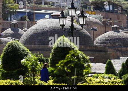 Tbilisi, Georgia. 17th Sep, 2018. TBILISI, GEORGIA - SEPTEMBER 17, 2018: Sulfur baths. Artyom Geodakyan/TASS Credit: ITAR-TASS News Agency/Alamy Live News - Stock Photo
