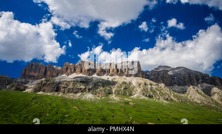 Dolomites mountains, North Italy. Scenic view in Dolomiti, Alto Adige, South Tyrol - Stock Photo