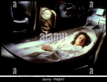 Prod DB © 20 TH Century Fox / DR ALIEN (ALIEN, LE HUITIéME PASSAGER) (ALIEN) de Ridley Scott 1979 GB avec Sigourney Weaver capsule prŽquelle, classique - Stock Photo