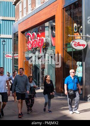 Front of, Disney Store, Oxford Street, London, England, UK, GB. - Stock Photo