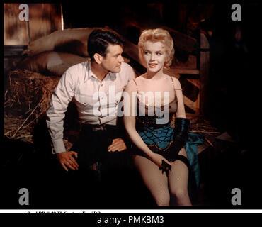 Prod DB © 20 Th Century Fox / DR ARRæT D'AUTOBUS (BUS STOP) de Joshua Logan 1956 USA avec Don Murray et Marilyn Monroe - Stock Photo