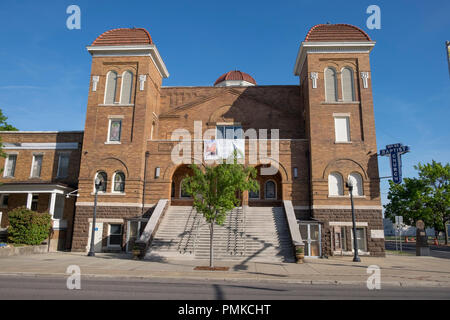 16th Street Baptist Church , Birmingham, Alabama, USA, North America - Stock Photo