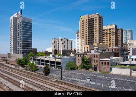 Birmingham skyline, Alabama - Stock Photo