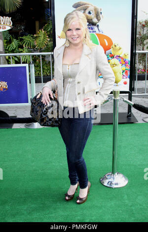 Crystal Hunt at the premiere of Universal Pictures' 'HOP.' Arrivals held at Universal Studios Hollywood in Universal City, CA, March 27, 2011. Photo by: Richard Chavez / PictureLux - Stock Photo