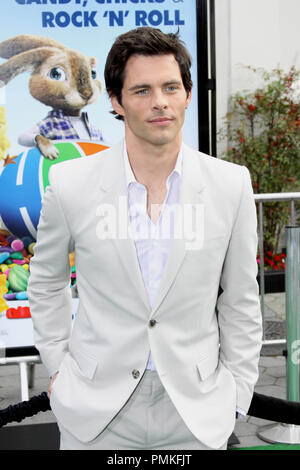 James Marsden at the premiere of Universal Pictures' 'HOP.' Arrivals held at Universal Studios Hollywood in Universal City, CA, March 27, 2011. Photo by: Richard Chavez / PictureLux - Stock Photo