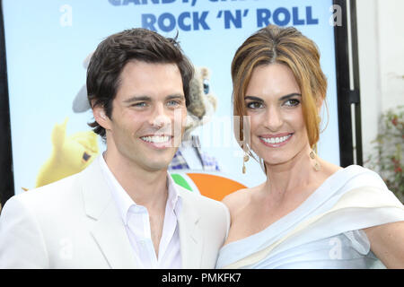 James Marsden and wife Lisa Linde at the premiere of Universal Pictures' 'HOP.' Arrivals held at Universal Studios Hollywood in Universal City, CA, March 27, 2011. Photo by: Richard Chavez / PictureLux - Stock Photo
