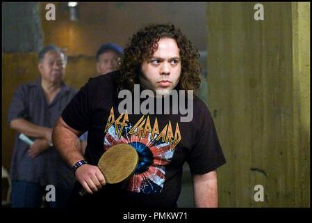 Prod DB © Rogue Pictures / DR BALLES DE FEU (Balls Of Fury) de Ben Garant 2007 USA Dan Fogler ping pong-rock-portrait - Stock Photo