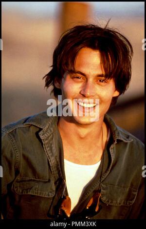 Prod DB © Constellation - UGC / DR ARIZONA DREAM (ARIZONA DREAM) de Emir Kusturica 1993 USA / FRA avec Johnny Depp portrait - Stock Photo