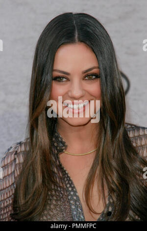 Mila Kunis at the 5th Annual Spike TV's 'Guy's Choice' Awards . Arrivals held at Sony Studios, in Culver City, CA June 4, 2011.  Photo by Joe Martinez / PictureLux - Stock Photo