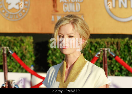 Gretchen Mol at the 18th Annual Screen Actors Guild Awards. Arrivals held at the Shrine Auditorium in Los Angeles, CA, January 29, 2012. Photo by Joe Martinez / PictureLux - Stock Photo