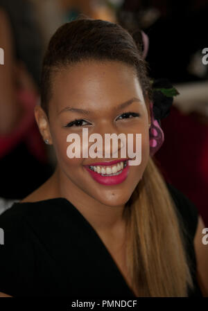 Liz Cambage at the Melbourne Cup, November 1, 2011. - Stock Photo