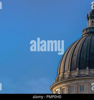 Dome roof of Utah State Capital Building - Stock Photo