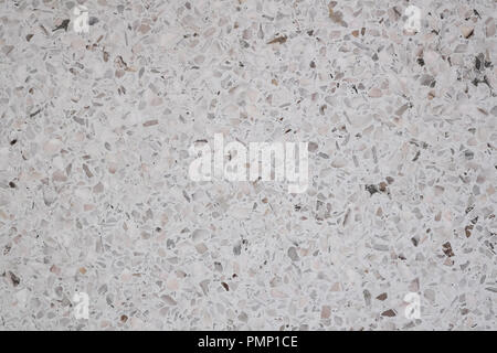 Dirty and dust on terrazzo polished stone floor and wall pattern and color surface marble and granite stone, material for decoration background textur - Stock Photo