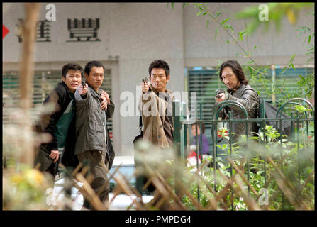 Prod DB © Milky Way / DR BREAKING NEWS (DAAI SI GIN) de Johnny To 2004 HK fusillade, - Stock Photo
