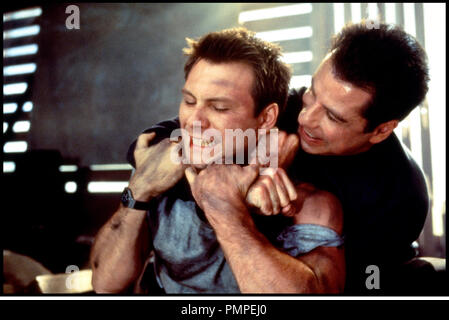 Prod DB © 20th Century / DR BROKEN ARROW (BROKEN ARROW) de John Woo 1992 USA avec Christian Slater et John Travolta etrangler, lutte - Stock Photo