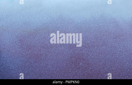 Frozen surface of car in the morning, close up, texture - Stock Photo